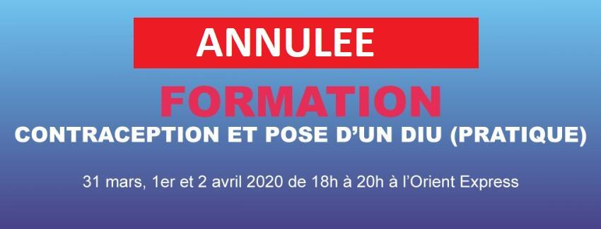 Formation DIU / Contraception (Pratique session 2)