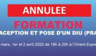 Formation DIU / Contraception