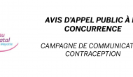 PROLONGEMENT DE L'AVIS D'APPEL A CONCURRENCE
